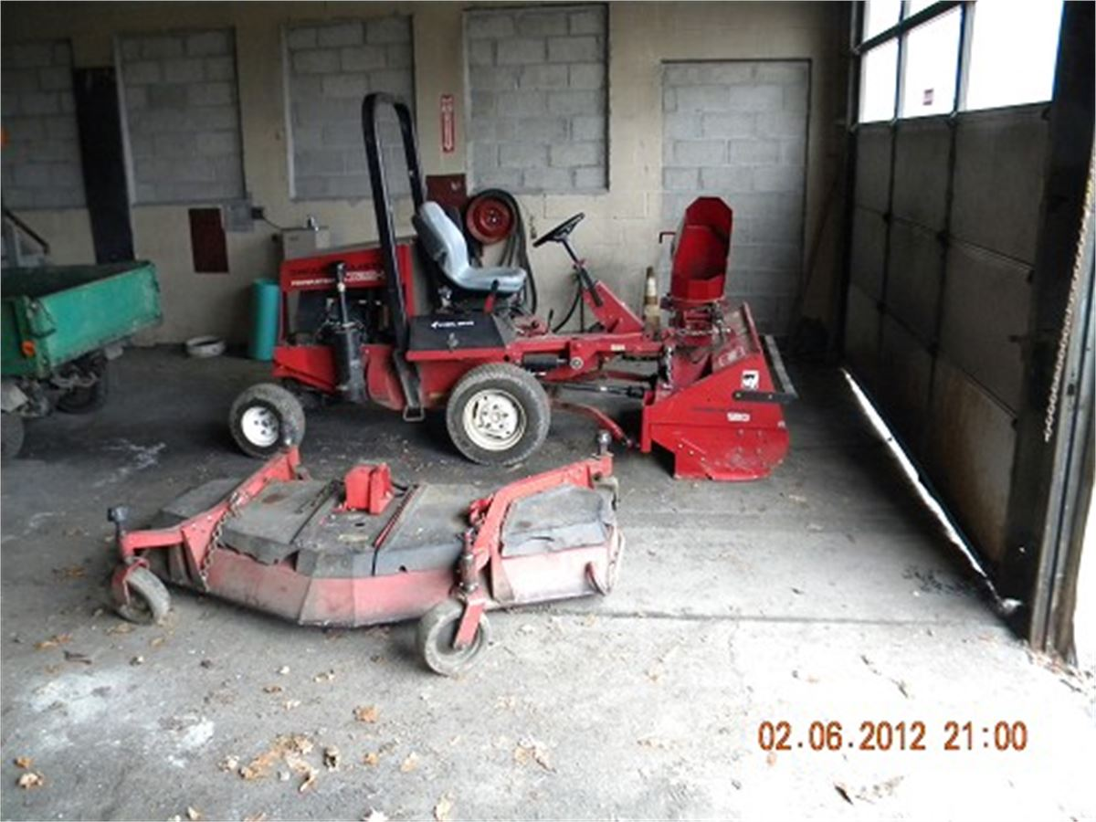 TORO GROUNDS MASTER Online Government Auctions of Government Surplus