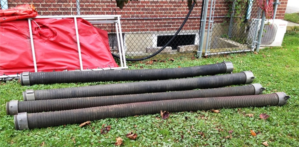 Fire quot hard suction hose for auction municibid