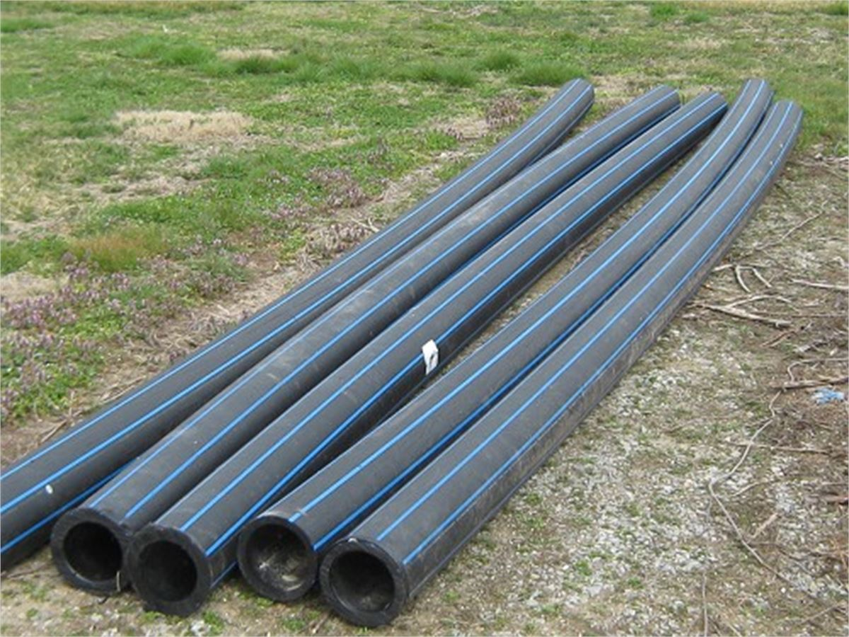 Listing Image & Used Plastic 6 inch water pipe for Auction | Municibid
