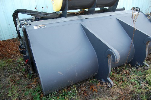 2007 Sweepster Loader Broom With Gutter Broom And