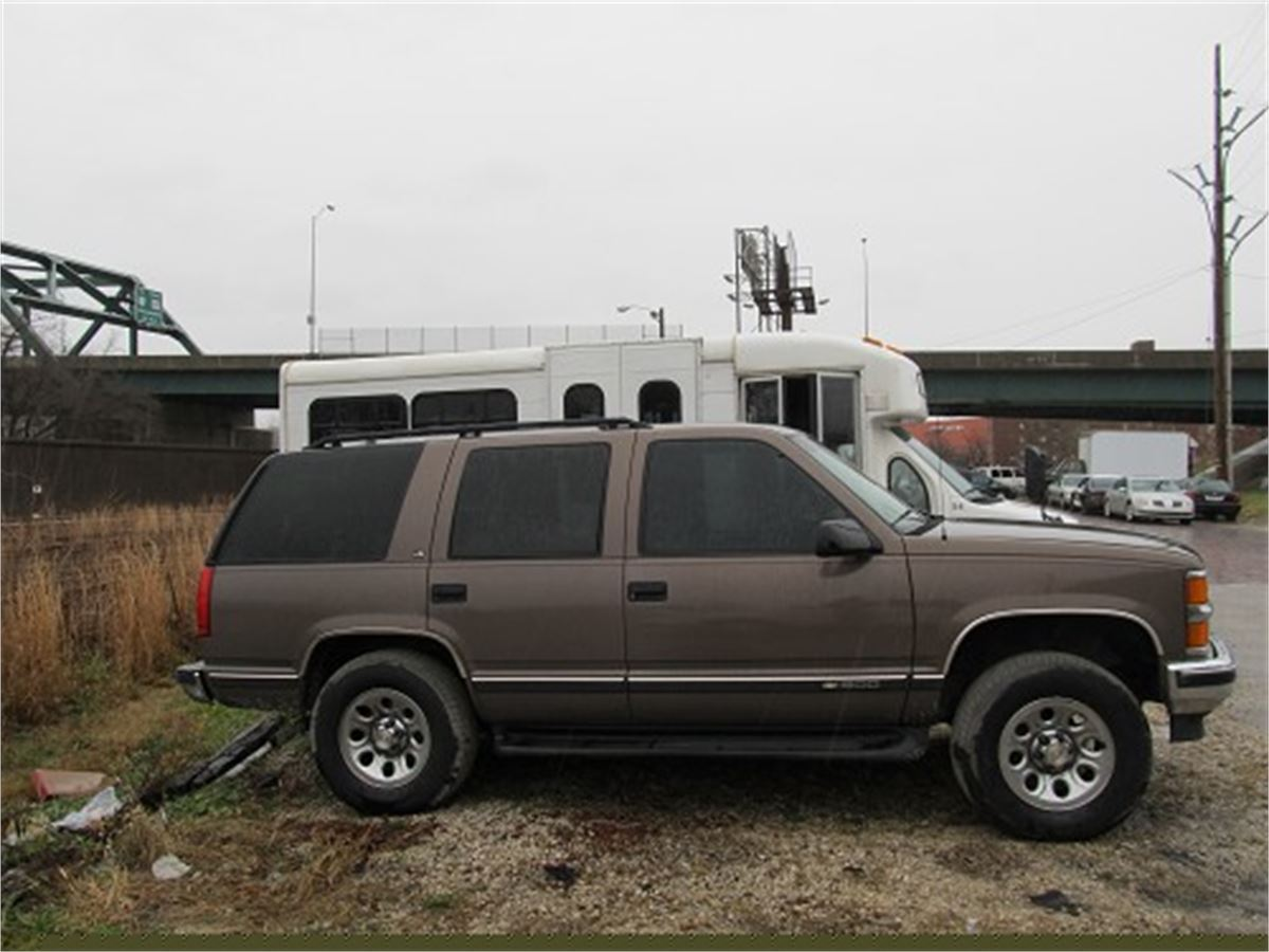 Tahoe 97 chevy tahoe : 1997 Chevy Tahoe (Brown) for Auction | Municibid