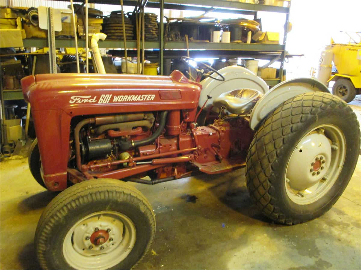 1961 Ford Tractor Model 601 Work Master Online Government Auctions Dump Truck Listing Image