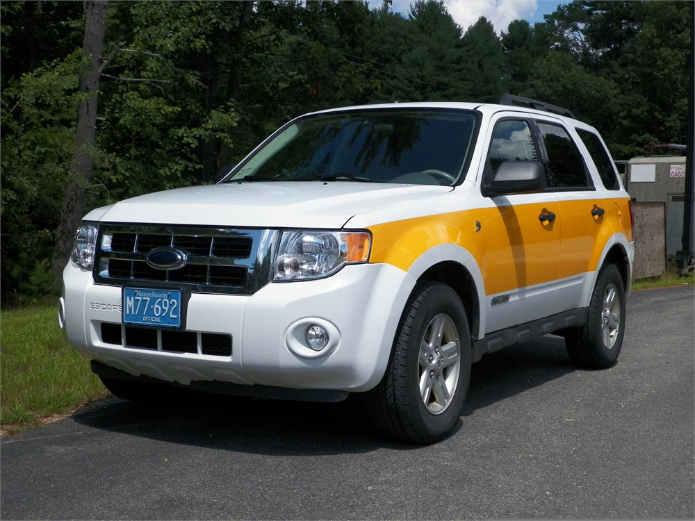 2008 ford escape hybrid for auction municibid. Black Bedroom Furniture Sets. Home Design Ideas