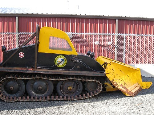 1964 Bombardier Sidewalk Plow Online Government Auctions of