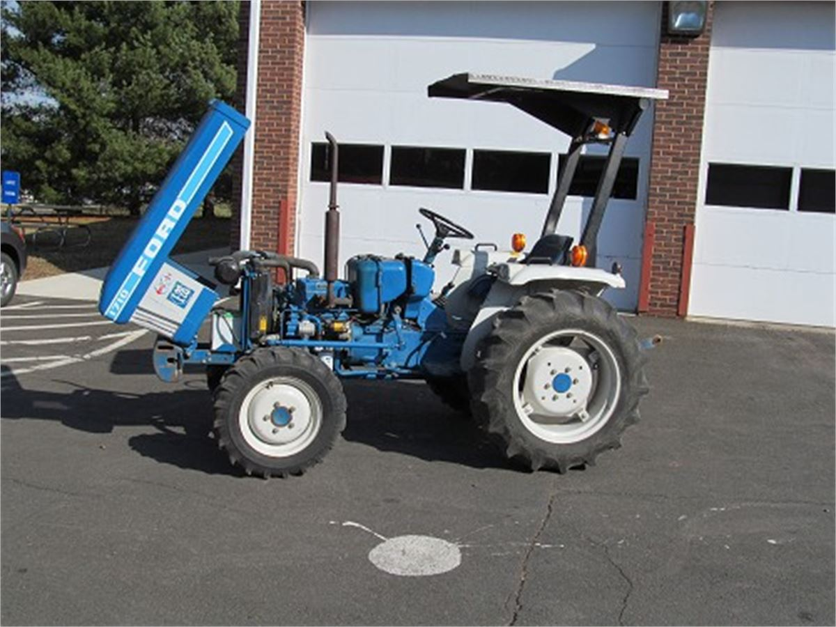 1985 Ford 1710 Compact Tractor Online Government Auctions ...