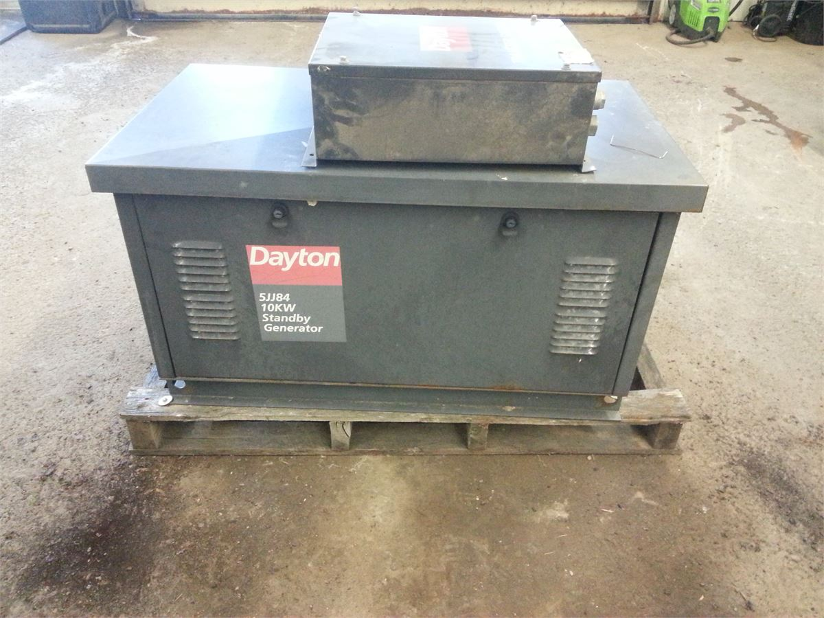 Dayton standby generator 10o kw for auction municibid listing image publicscrutiny Images