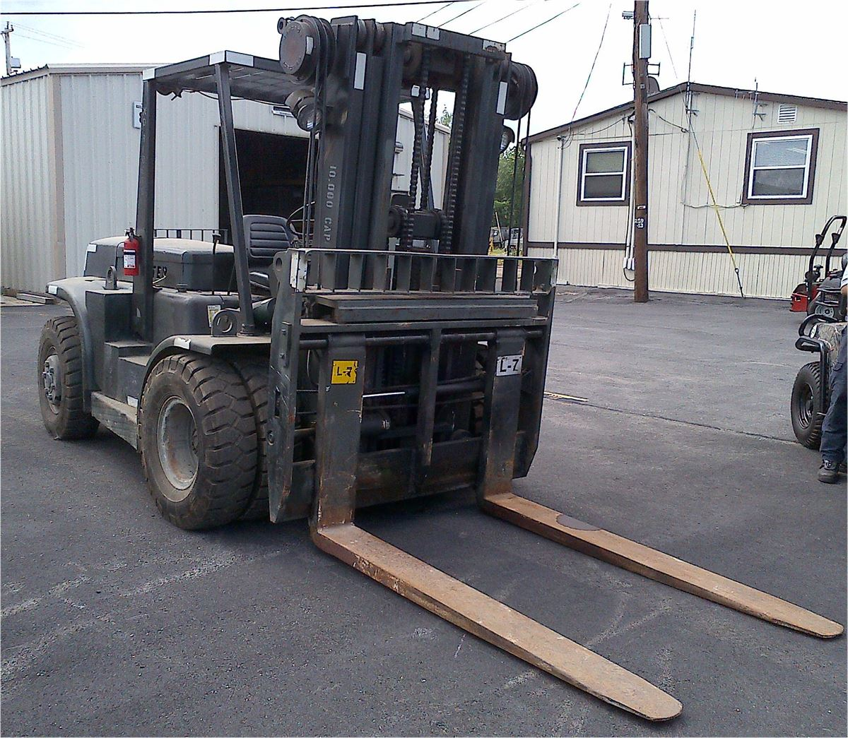 10k Forklift hyster manual