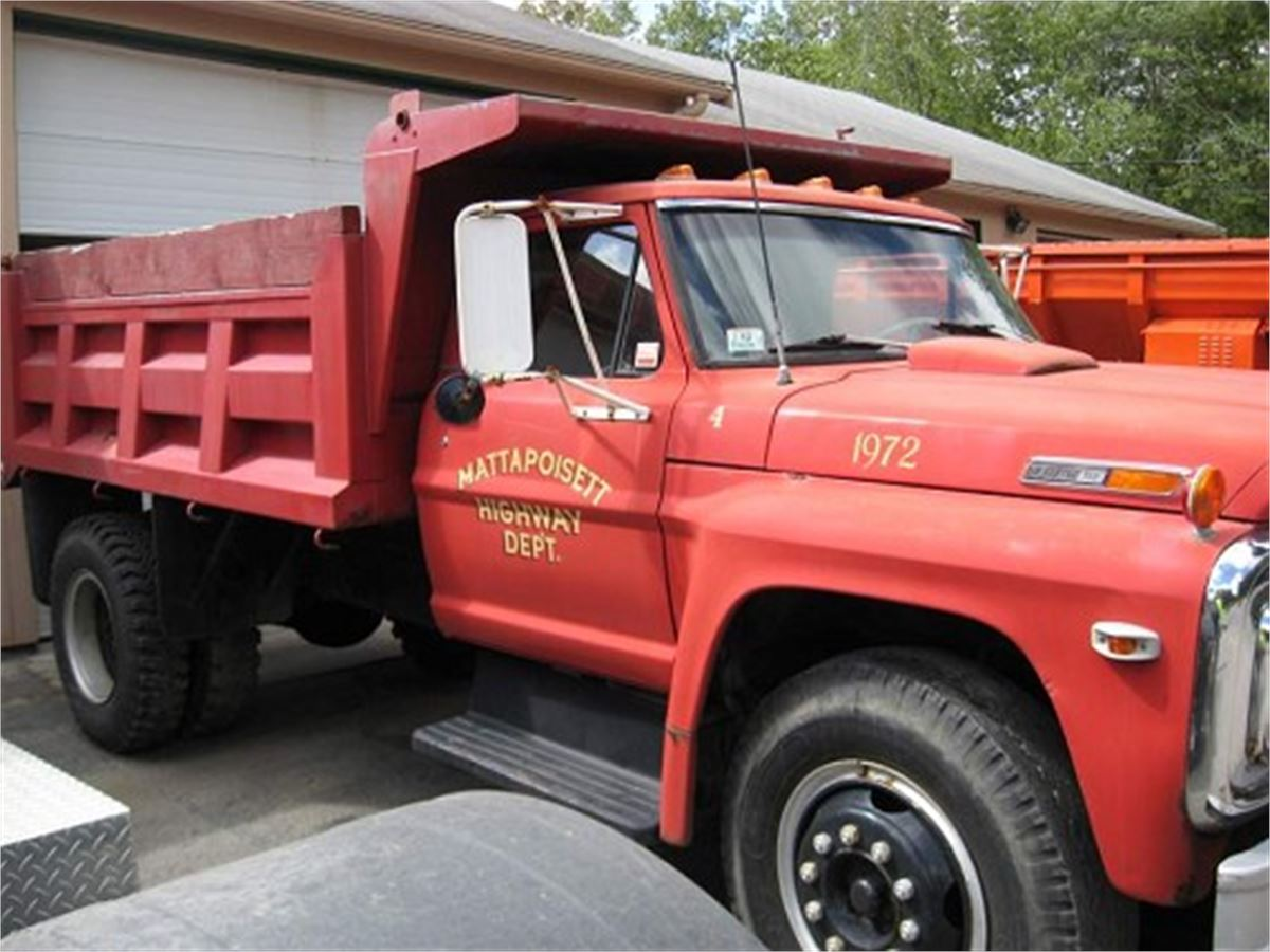 Ford F750 For Sale >> 1972 Ford F-750 Dump Truck for Auction | Municibid