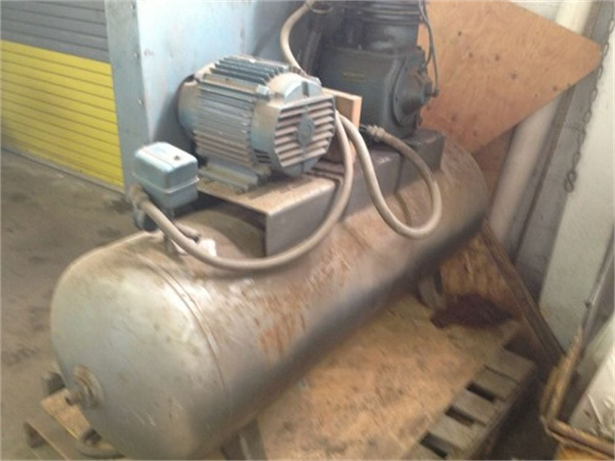 Kellogg american air compressor 340tv for auction municibid listing image fandeluxe Images