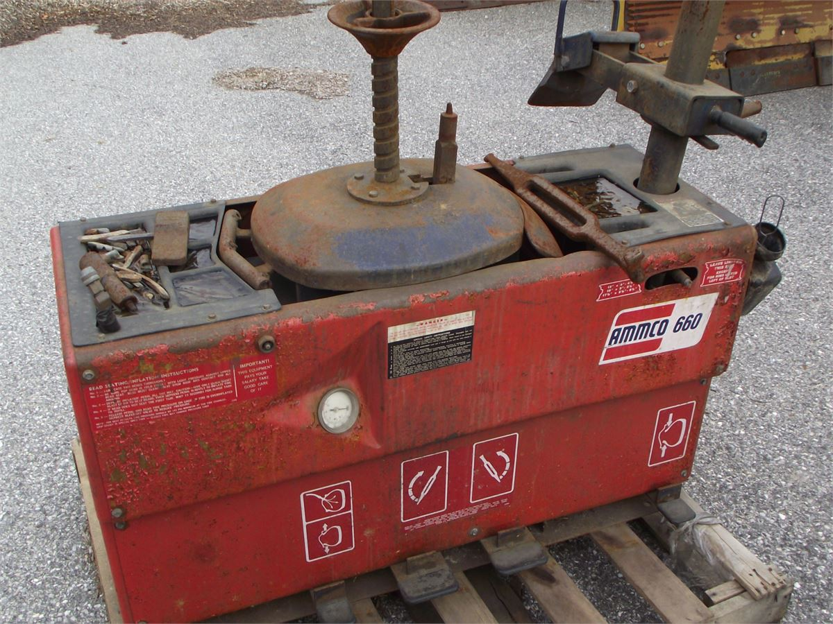 One (1) Ammco 660 Tire Changer for Auction | Municibid
