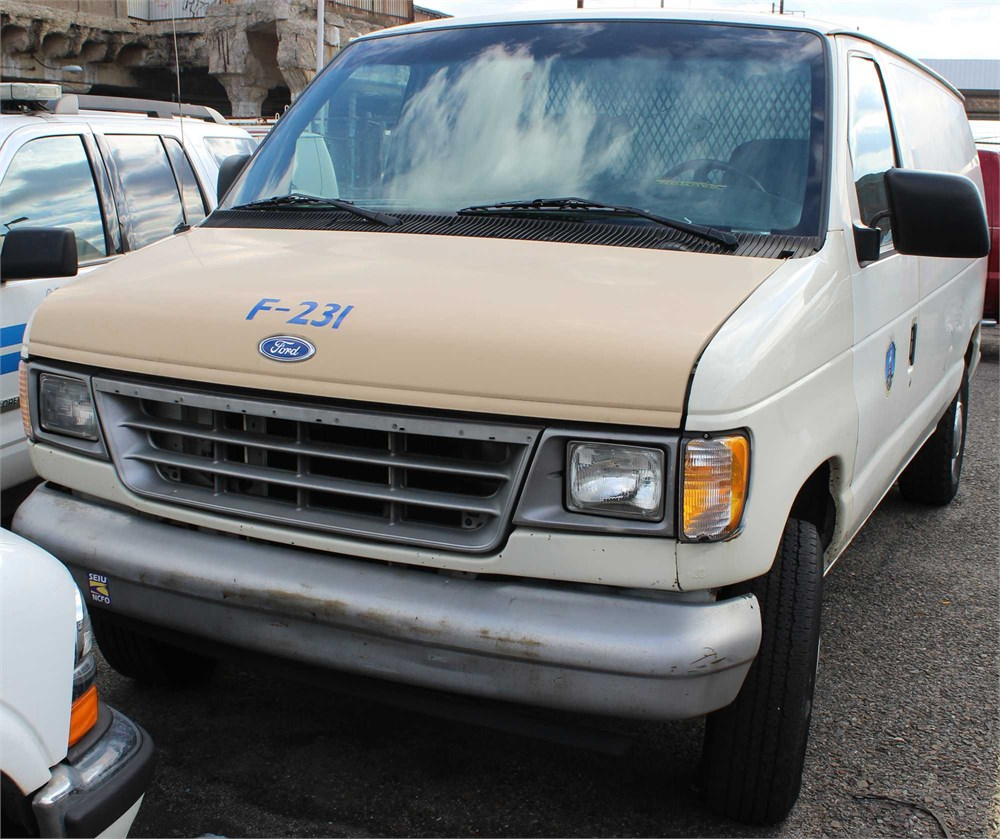 Ford 1996 E250 Cargo Van Online Government Auctions Of