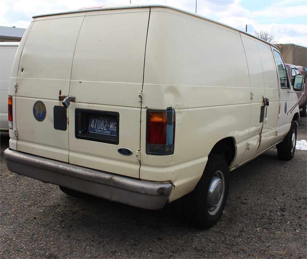 Ford 1993 E250 Cargo Van Online Government Auctions Of