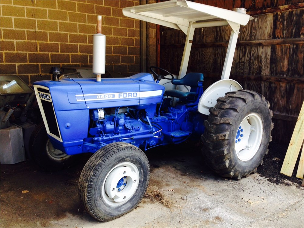 Ford 3600 Tractor : Ford tractor online government auctions of