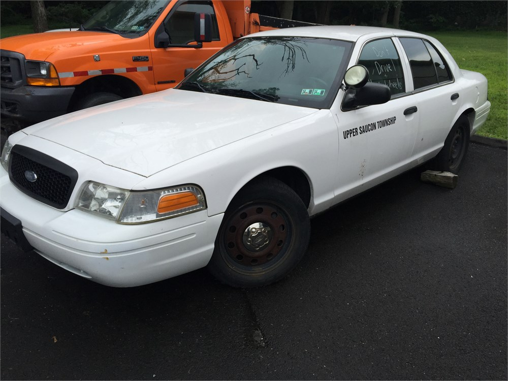 2007 ford crown victoria police interceptor vin 2fahp71w27x148694 online government auctions. Black Bedroom Furniture Sets. Home Design Ideas