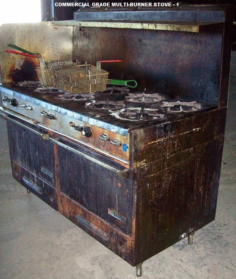 Multiple Piece Commercial Kitchen Appliances And Equipment
