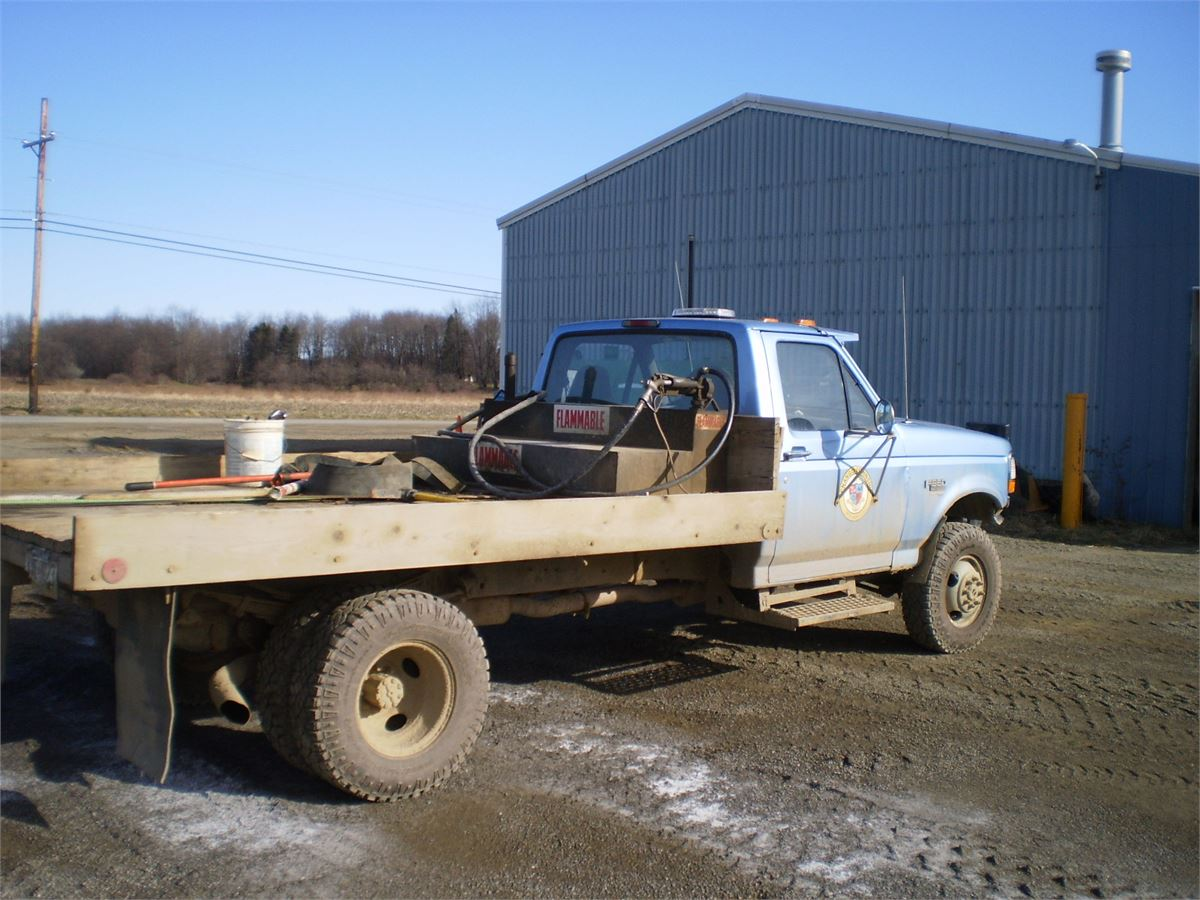 1997 Ford F350 4x4 Dually Flat Bed Power Stroke Deisel Online Government Auctions Of Government Surplus Municibid