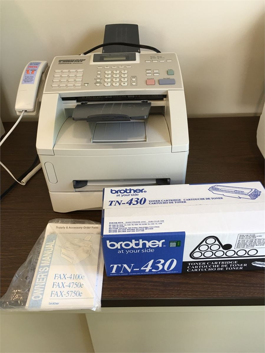 toner for 4100e fax machine
