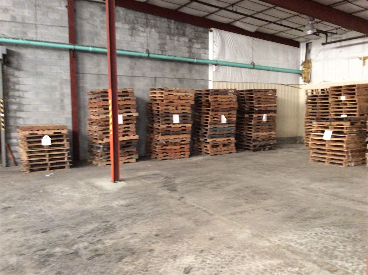 Wood Pallets Lot #1 Online Government Auctions of ...