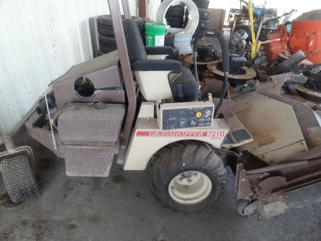 Grasshopper 721d  Missing Parts  Online Government Auctions Of Government Surplus