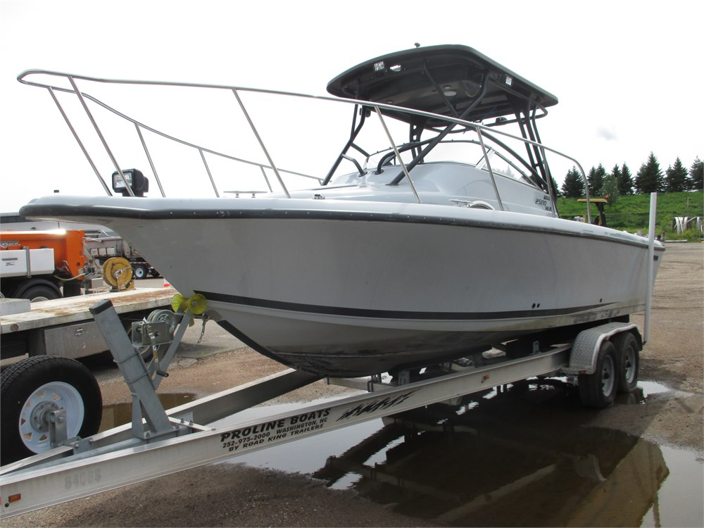 Boat Auctions Near Me >> 2500 Proline patrol boat for Auction | Municibid