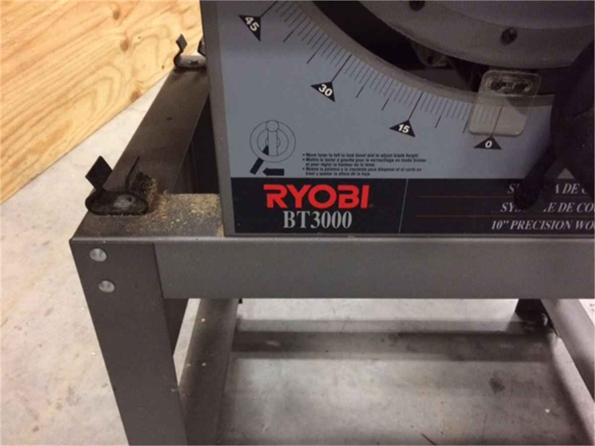 Municibid Online Government Auctions Of Government Surplus Ryobi Bt3000 10 Precision Table