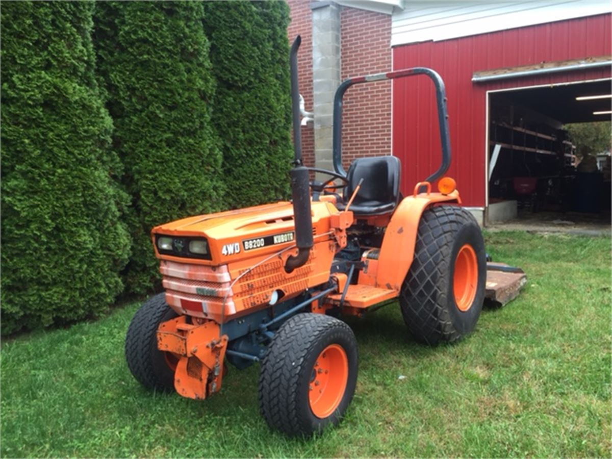 1984 kubota b8200 4wd online government auctions of