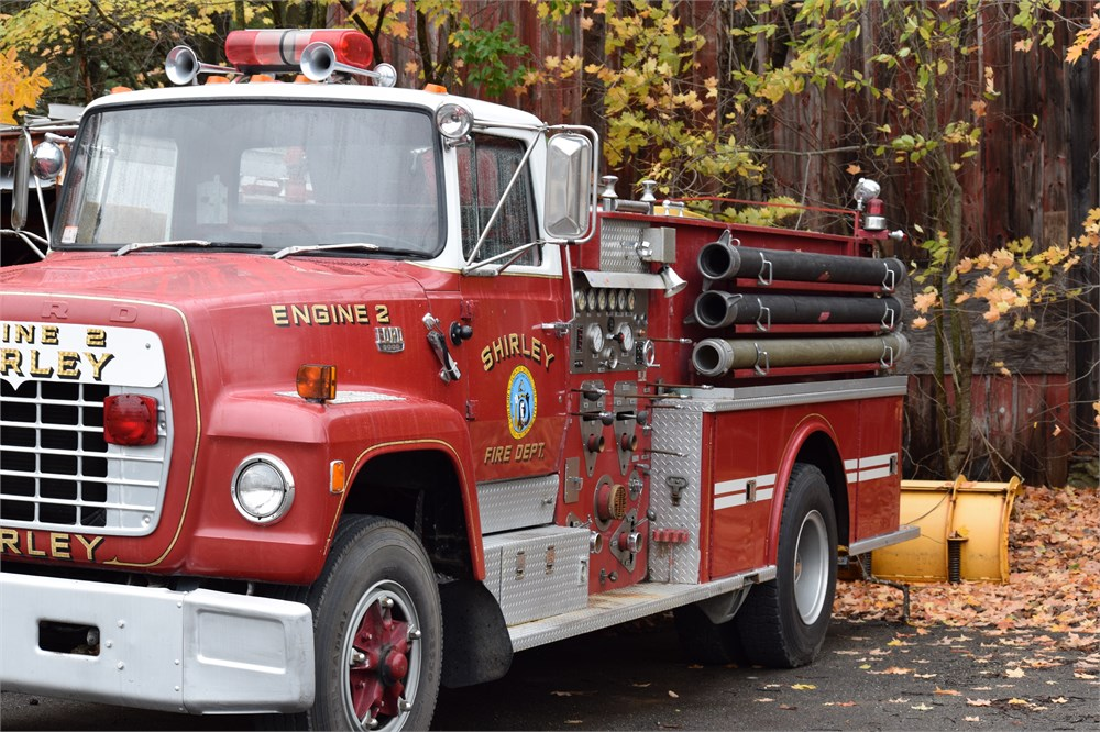 1978 Ford Fire Truck For Auction Municibid