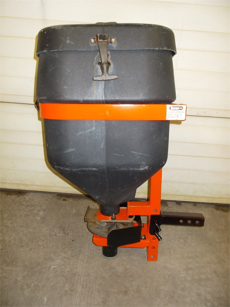 buyers suv hitch mounted salt spreader for auction municibid