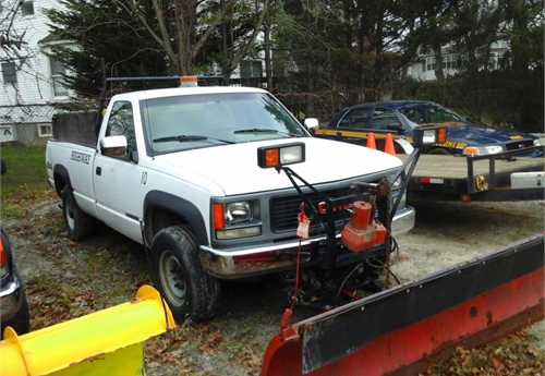 1994 GMC Pick-up with Plow/Sander