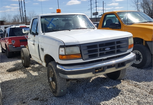 1997 ford f250 heavy duty 4x4 pickup lot2188 970276 for auction municibid. Black Bedroom Furniture Sets. Home Design Ideas