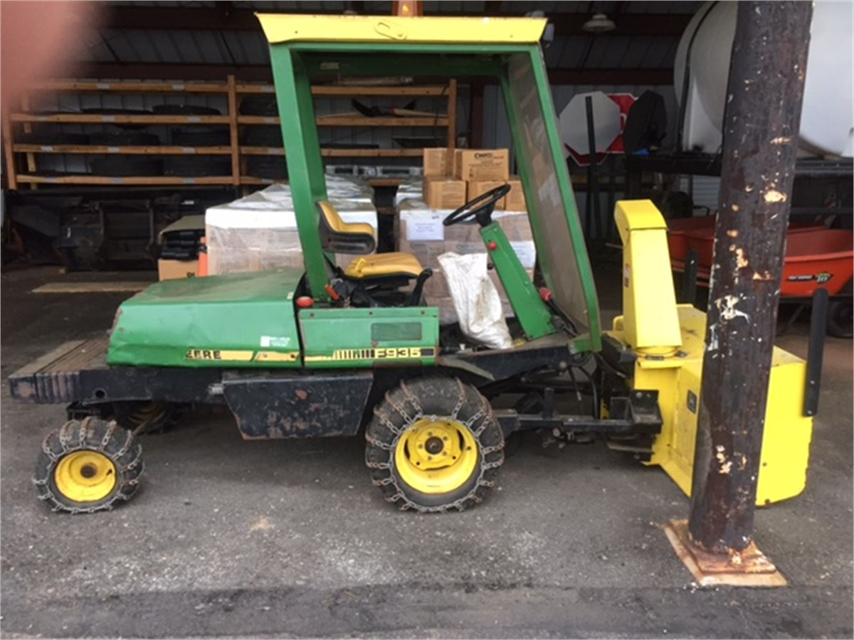 1988 John Deere F935 Front Deck Mower Online Government Auctions Of Government Surplus Municibid