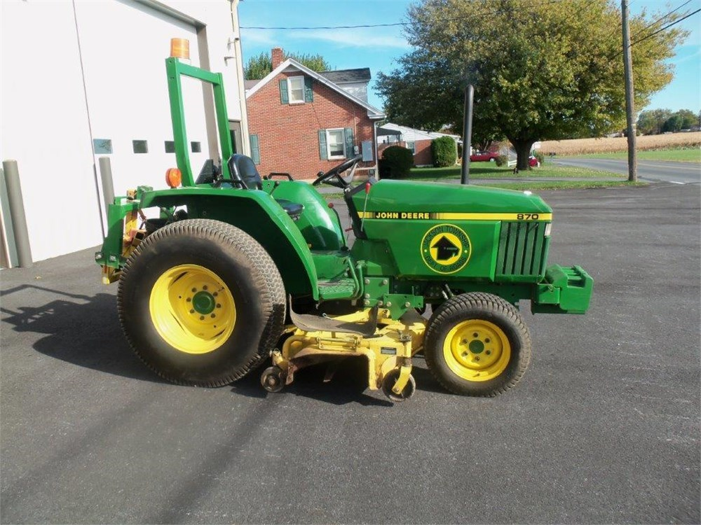1991 john deere 870 4x4 tractor online government auctions of government surplus municibid. Black Bedroom Furniture Sets. Home Design Ideas