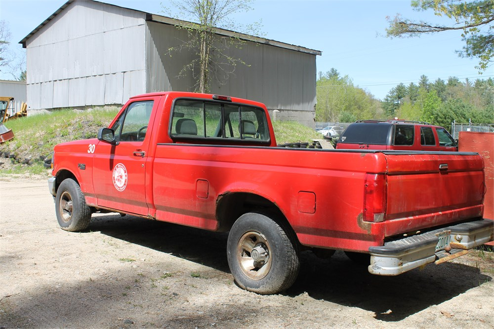 1995 ford f 150 for auction municibid. Black Bedroom Furniture Sets. Home Design Ideas