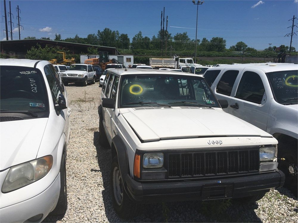 1996 Jeep Cherokee 4x4 Suv Lot2433 960580 For Auction