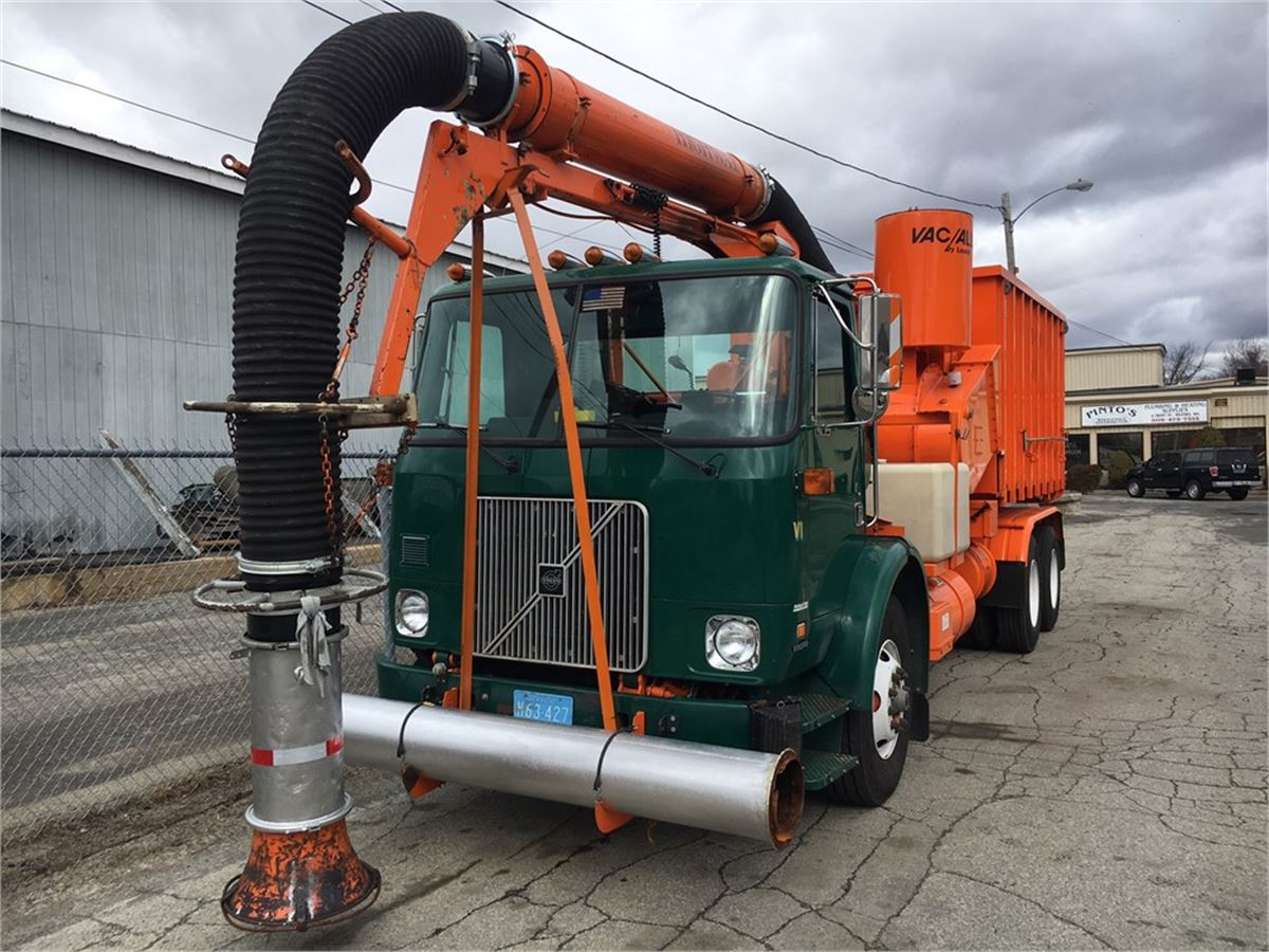 2000 Volvo Vac All Catch Basin Cleaner Online Government Auctions Of