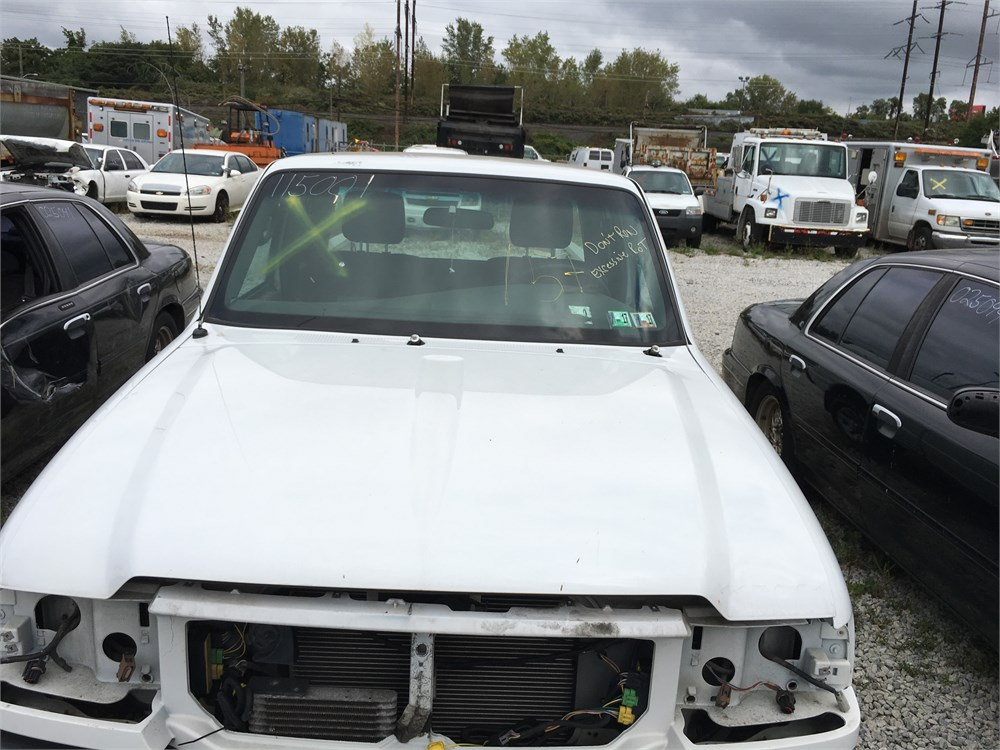 2011 ford ranger 4x4 small pickup lot157 115001 for auction municibid. Black Bedroom Furniture Sets. Home Design Ideas