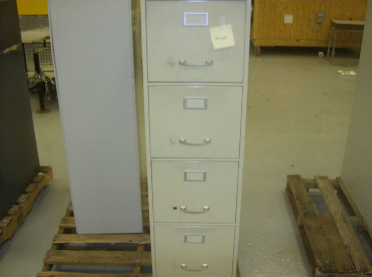 4 draw filing cabinet for auction municibid for Auctions for kitchen cabinets