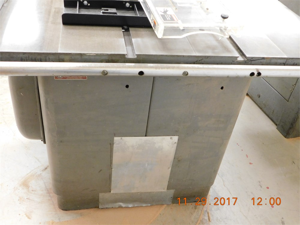 Delta table saw 12 inch for auction municibid for 12 inch table saw