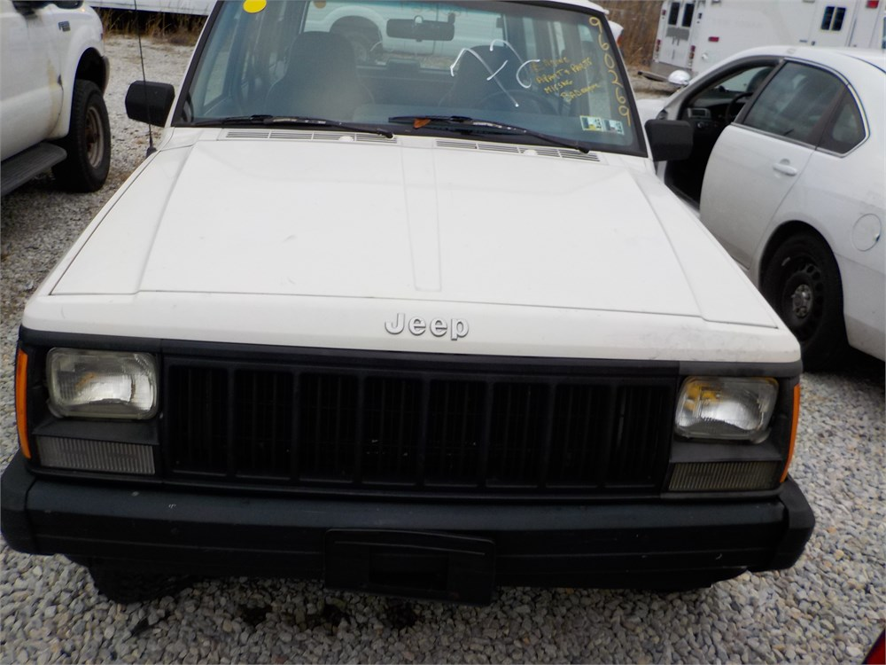 1996 Jeep Cherokee 4x4 Suv Lot72 960269 For Auction