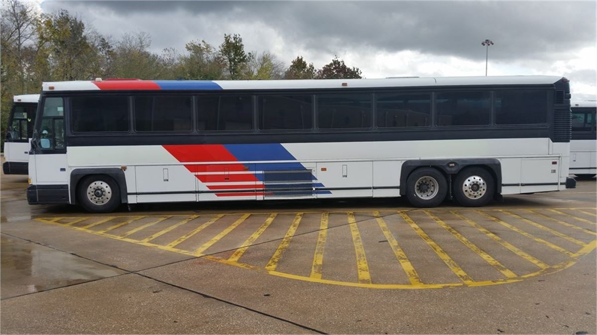 2001 MCI 45' COACH BUS (4844) Online Government Auctions of