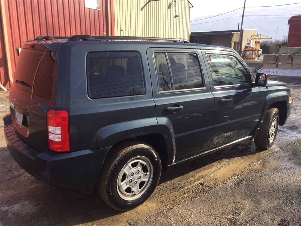 2008 jeep patriot online government auctions of government surplus municibid. Black Bedroom Furniture Sets. Home Design Ideas