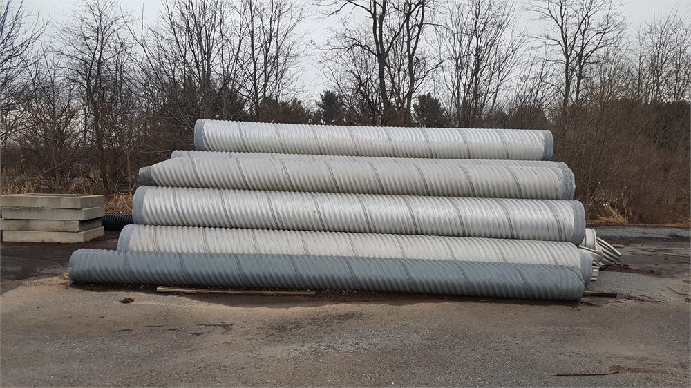 Corrugated Drain Pipe Online Government Auctions Of