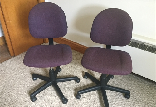 Desk chairs Lot 4