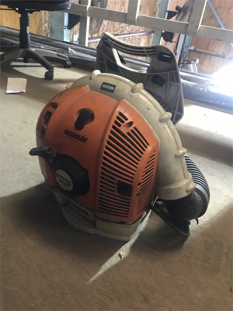 Stihl BR 600 Magnum Leaf Blower Online Government Auctions