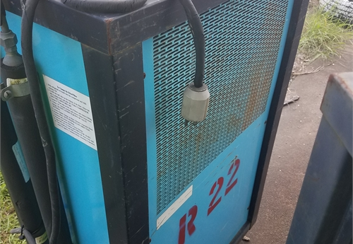 1 USED A/C FREON RECOVERY MACHINE