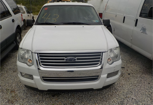 2008 FORD EXPLORER XLT 4X4 SUV / LOT43-080089
