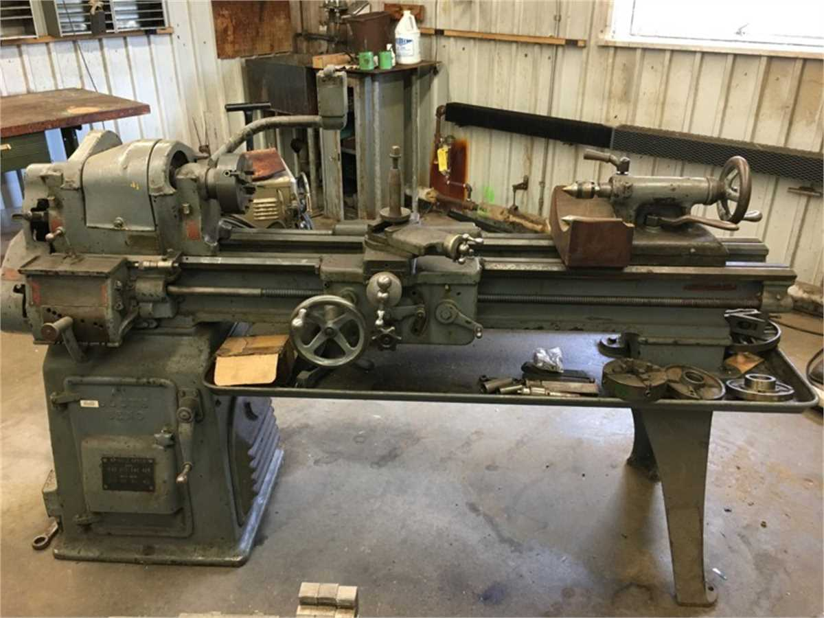South Bend Lathe Machine Online Government Auctions of