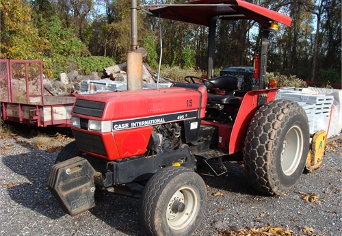CASE 495 Tractor with Alamo Mower