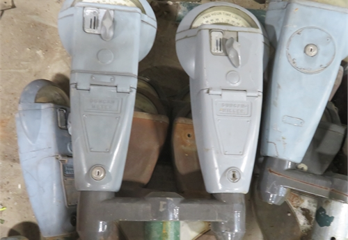 Used Duncan Parking Meters