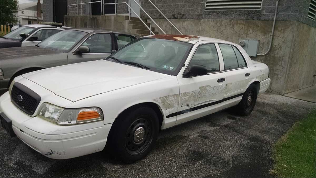 2008 Ford Crown Victoria Ex Police Car Online Government Auctions Of